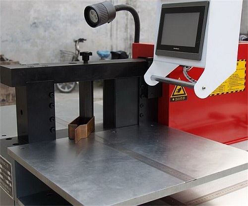 manual hydraulic CNC busbar machine for electric switch and electric switch