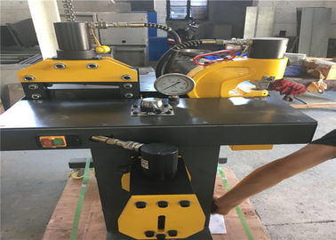 China Professional Hydraulic Copper Cutting Machine For Electric Switch Manual Control supplier