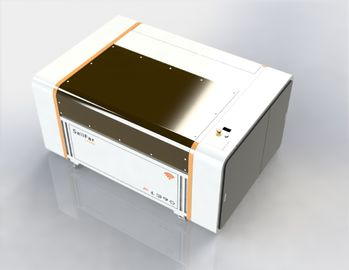 China Acrylic / Crystal Industrial Laser Cutting Machine 2500 DPI Resolution Scanning Accuracy supplier