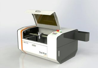 China Small 50W Miniature Laser Engraving Machine , Industrial Laser Cutter Engraver supplier