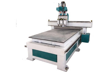 China 4.5KW Spindle 3D CNC Wood Router , Practical Cnc Wood Cutting Engraving Machine supplier