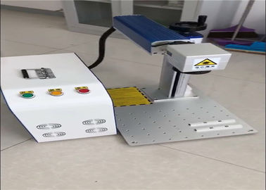 Compact Fiber Laser Marking Machine For Jewelery And Bearing , Laser Etching Equipment