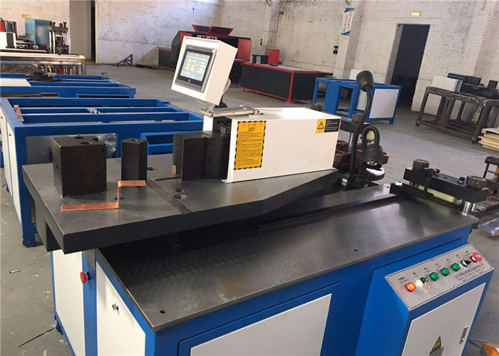 Hydraulic Busbar Punching Machine , CNC Copper Busbar Bending Machine
