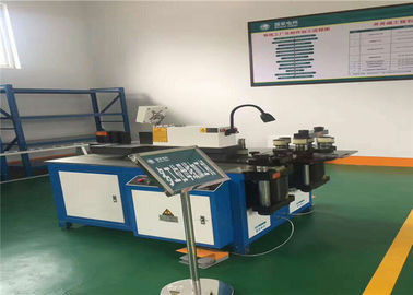 Transformer Substation CNC Busbar Bending Cutting Punching Machine 3 In 1 3x4kw