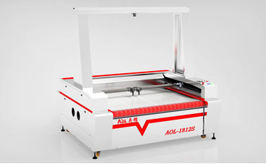 China Auto Feeding Ccd Camera Laser Cutting Machine For Textile & Garment & Fabric distributor