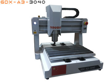 China 3040 Desktop CNC Router Machine For Wood Cutting , 3D CNC Wood Router factory