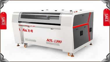 China Cloth Fabric Co2 Laser Cutter / Laser Cutting Machine With Auto Feeding distributor