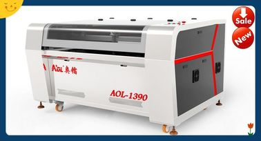 China Auto Feeding Cloth / Garment Laser Cutting Machine With DSP Digital Control distributor