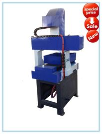 China 3040 Small Desktop CNC Router Machine For Metal / Wood With Steel Structure Body factory