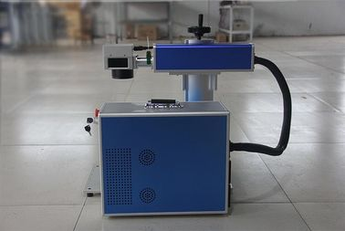 China Portable fiber laser Precious metal marking machine for metal and phone case distributor