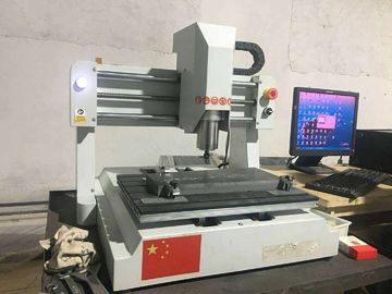 China Small 800w Desktop CNC Router Machine Engraving Wood Stone Acrylic And Soft Metal distributor