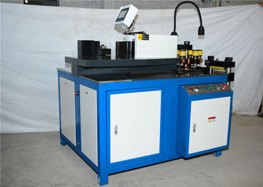High Efficiency CNC Hydraulic Punch Cutting Machine , Copper Busbar Machine