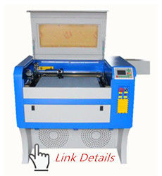 China 40x60 Cm Small Laser Wood Cutting Machine , Non Metal Acrylic Laser Engraving Machine distributor