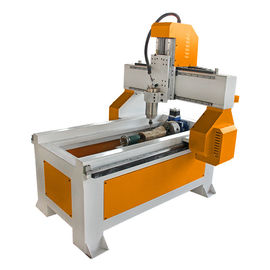 China 6090 4 Axis Desktop CNC Router Machine For Advertising , Mach3 Control Cnc Milling Machine distributor