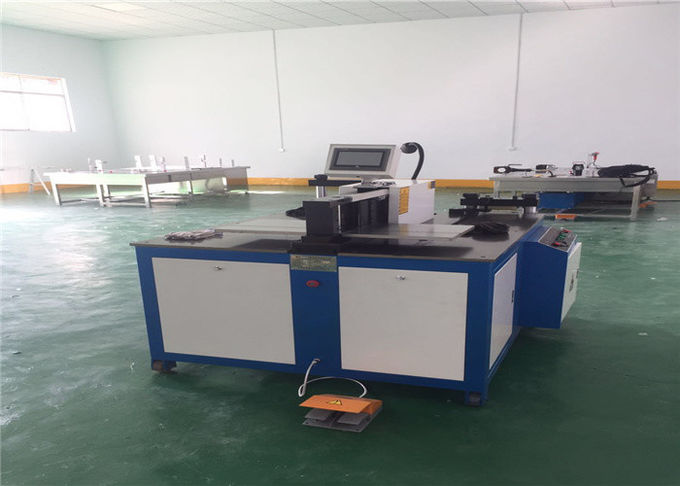 3 In 1 CNC Busbar Bending Cutting Punching Machine For Copper 12x160 mm