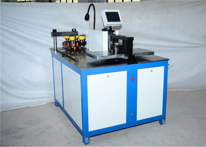 12x160mm CNC busbar bending cutting punching machine for copper and aluminum